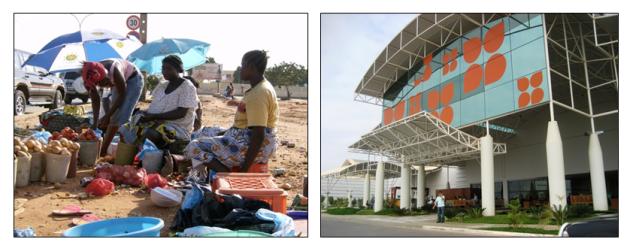 contrastes Angola